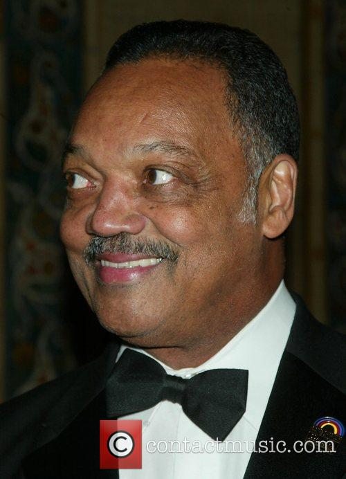 Rev. Jesse Jackson attending Alvin Ailey's Opening Night...