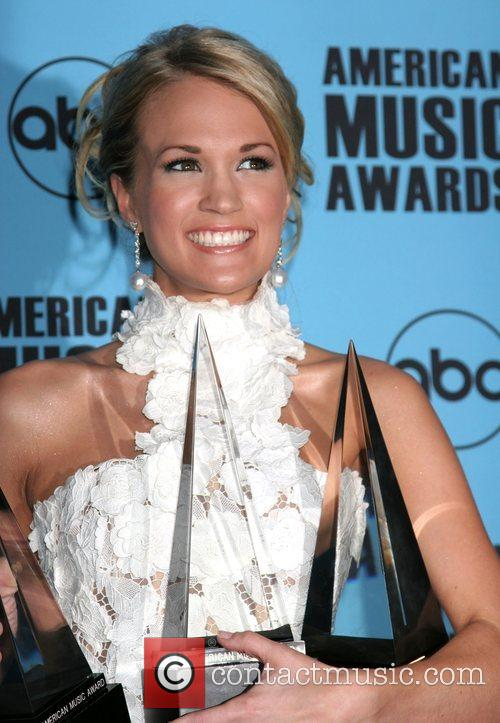 Carrie Underwood American Music Awards 2007 Nokia Theater...