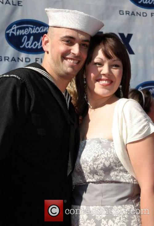 Phil Stacey and Wife American Idol Season 6...