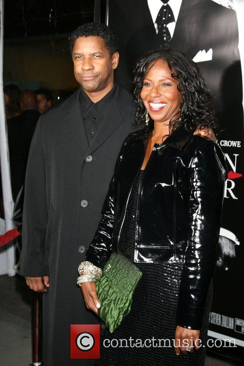 Denzel Washington and Pauletta Washington 2