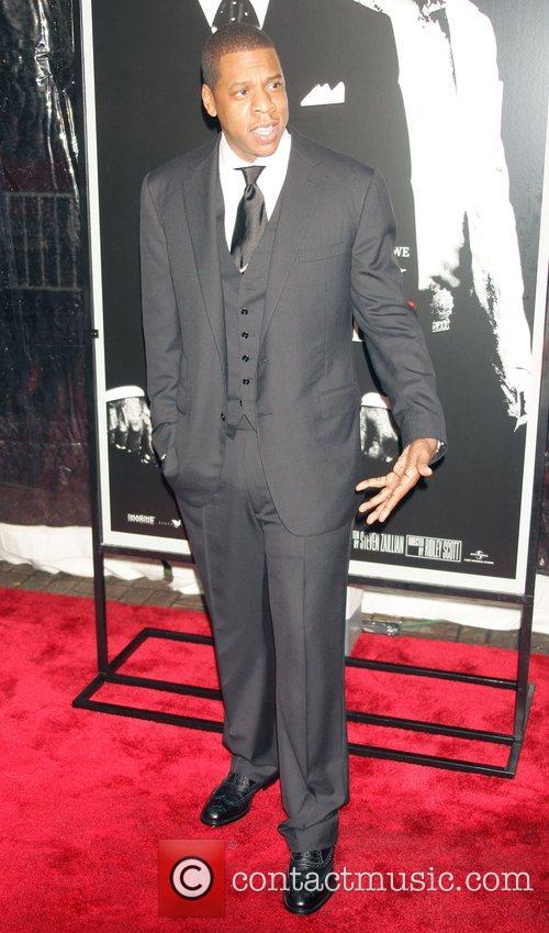 Jay-Z (aka Shawn Corey Carter) New York Premiere...