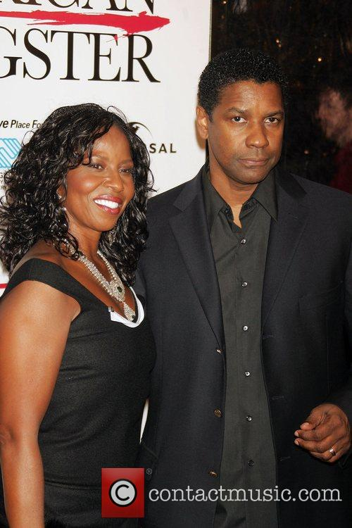 Pauletta Washington and Denzel Washington 3
