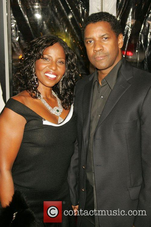 Pauletta Washington and Denzel Washington 2