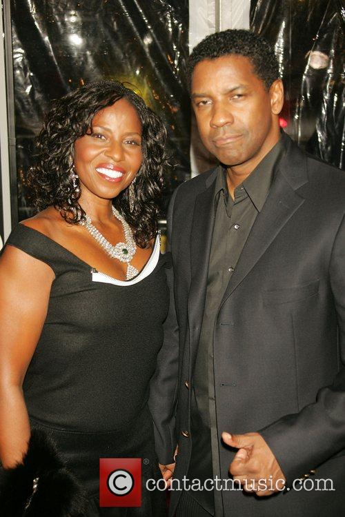 Pauletta Washington and Denzel Washington 4