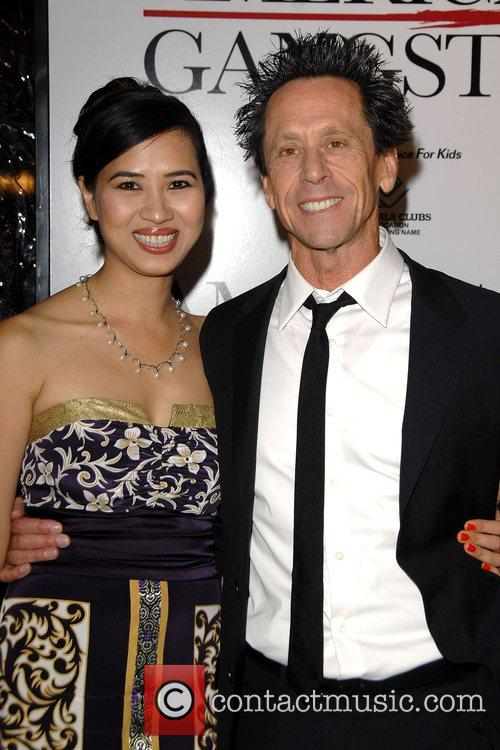 Brian Grazer and guest New York Premiere of...