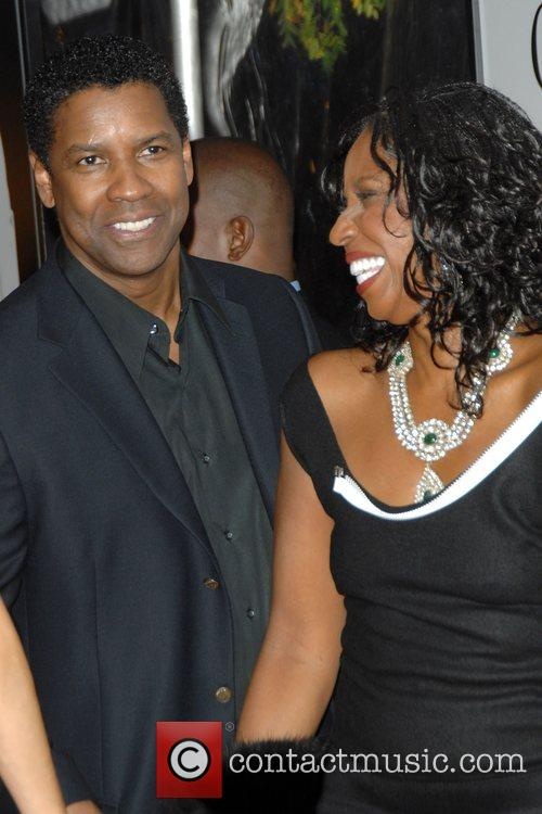 Pauletta Washington and Denzel Washington 8
