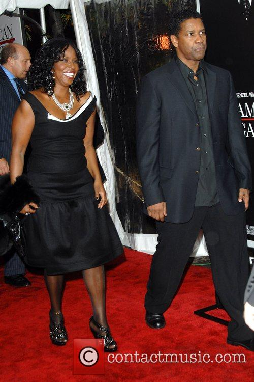 Pauletta Washington and Denzel Washington 5