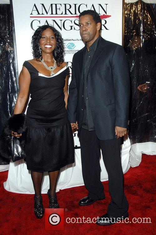Pauletta Washington and Denzel Washington 7
