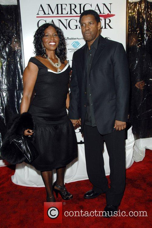 Pauletta Washington and Denzel Washington 6