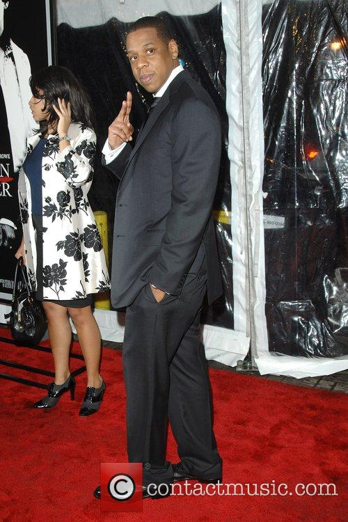 Jay-Z New York Premiere of 'American Gangster' at...