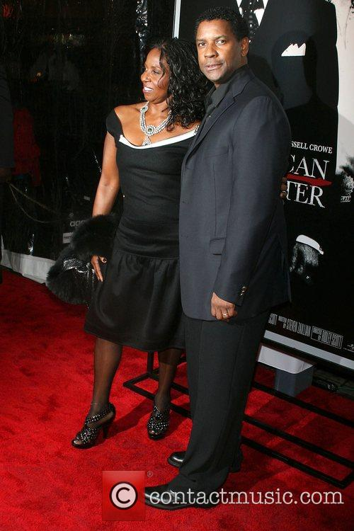 Pauletta Washington and Denzel Washington 1
