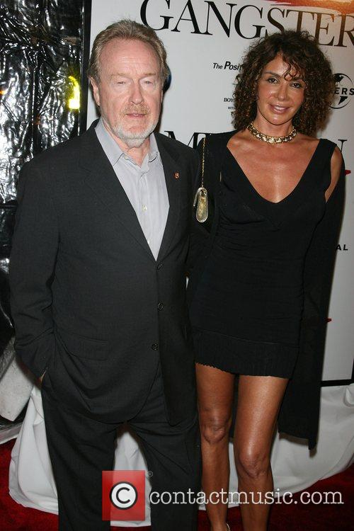 Ridley Scott and Wife 1