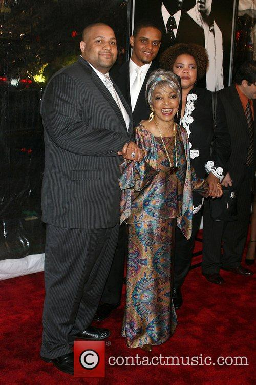 Ruby Dee and family New York Premiere of...
