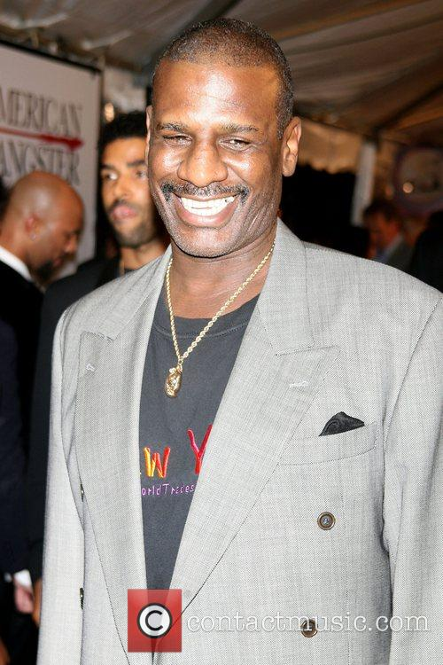 Michael Spinks New York Premiere of 'American Gangster'...