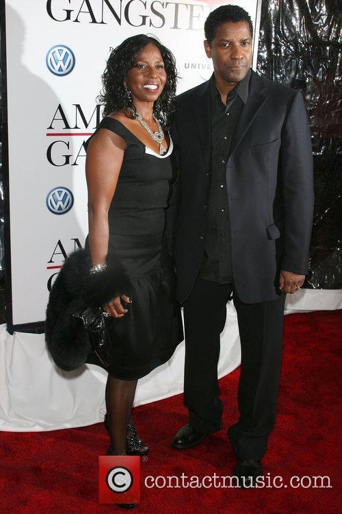 Pauletta Washington and Denzel Washington 1