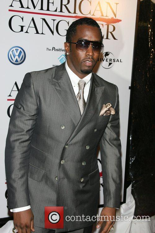 Sean Combs (Diddy) New York Premiere of 'American...