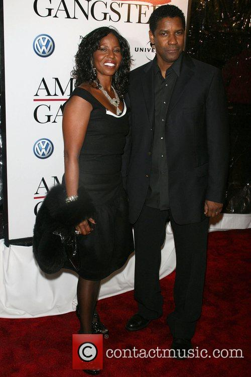 Pauletta Washington and Denzel Washington 11