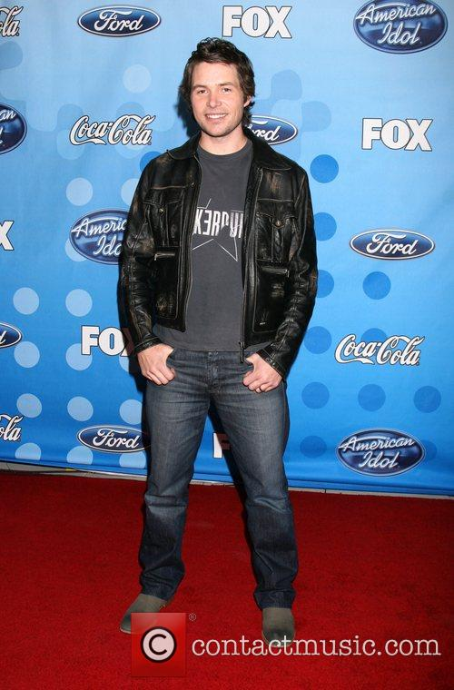 American Idol Top 12 Party arrivals held at