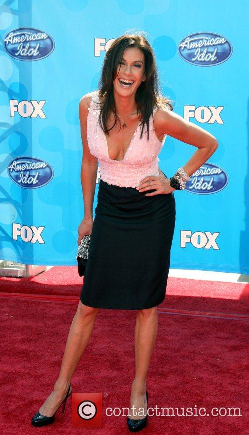 Teri Hatcher and American Idol 1