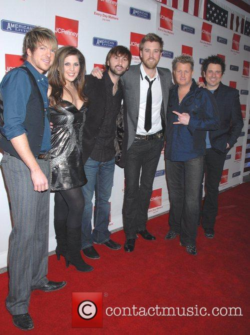 Rascal Flats and Guests JC Penny celebrates the...