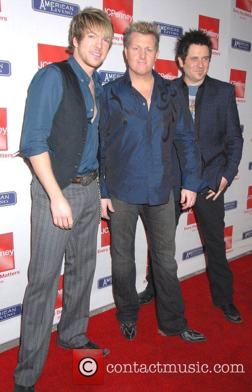 Rascal Flats JC Penny celebrates the launch of...