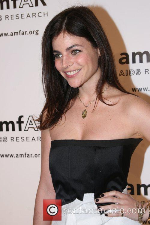 Julia Restoin-Roitfeld amfAR 2008 New York Gala at...