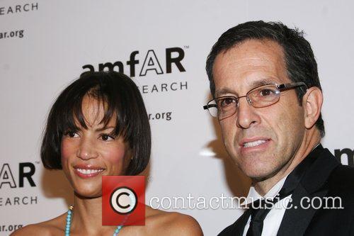 Veronica Webb and Kenneth Cole amfAR 2008 New...