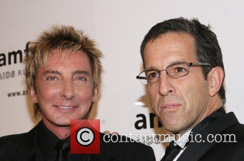 Barry Manilow and Kenneth Cole amfAR 2008 New...