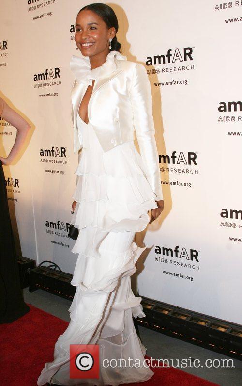 Joy Bryant amfAR 2008 New York Gala at...