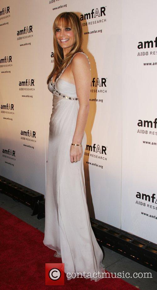 Molly Sims amfAR 2008 New York Gala at...