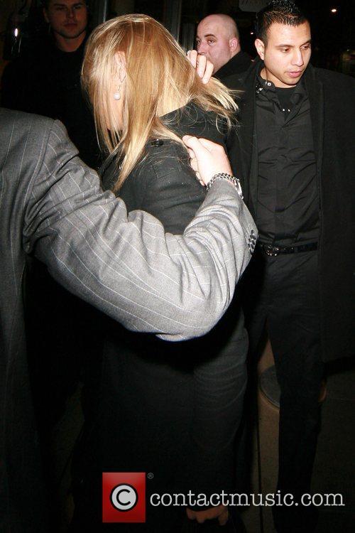 Chelsy Davy arrives at Amika nightclub