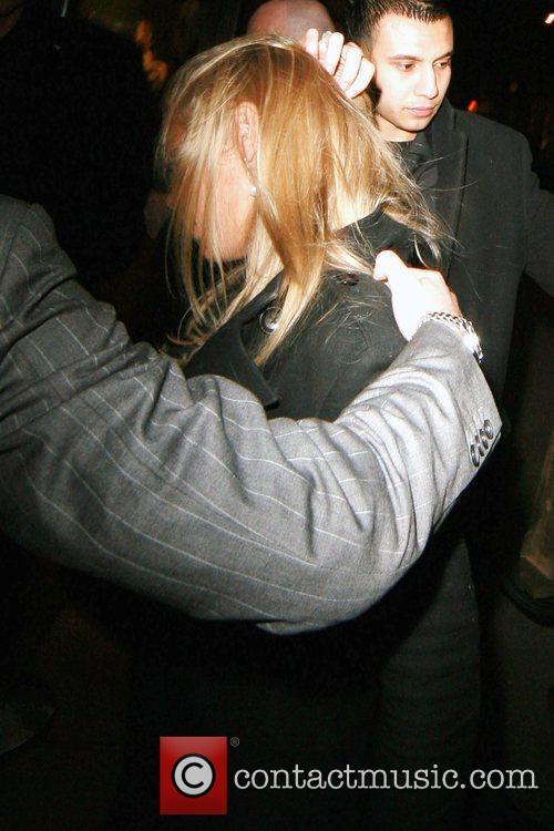 Chelsy Davy arrives at Amika nightclub London, England