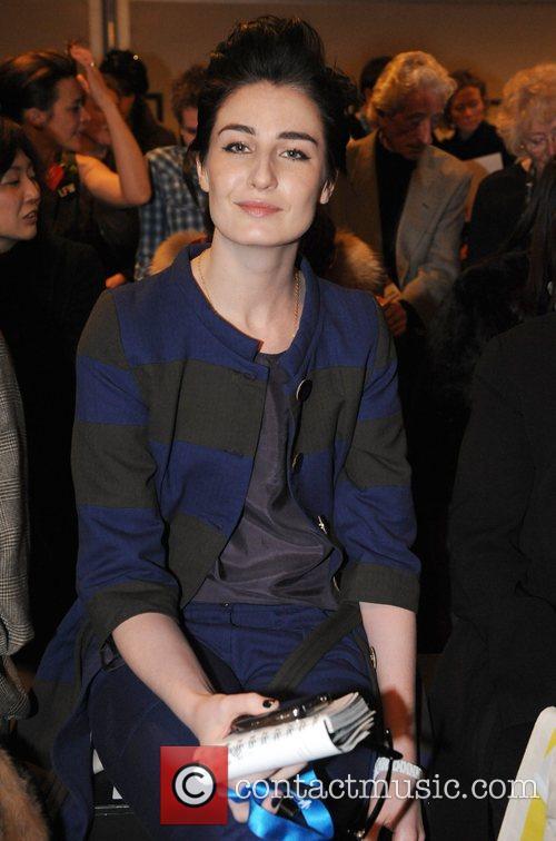 Erin O'Connor London Fashion Week Autumn/Winter 2008 -...