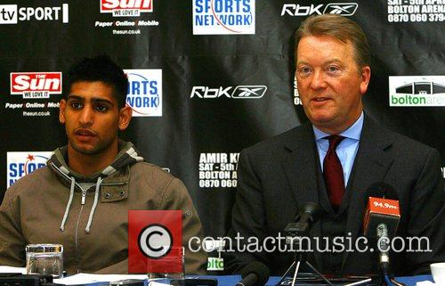 Amir Khan and His Promoter Frank Warren 4