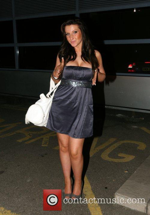 Amy Alexandra from Big Brother 8 outside her...