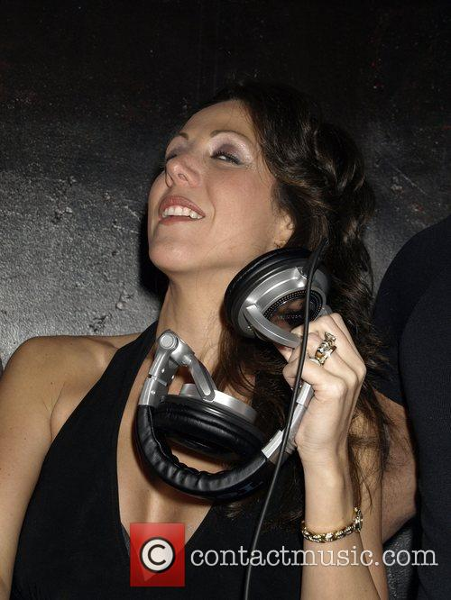 Amy Fisher guest DJs at her Sex Tape.