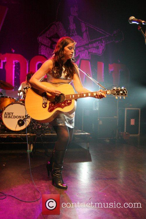 Amy MacDonald performing in concert at the Shepherds...