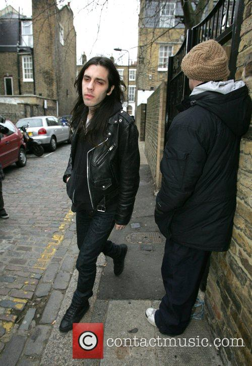 Blake Wood - leaves Amy Winehouse's North London home as