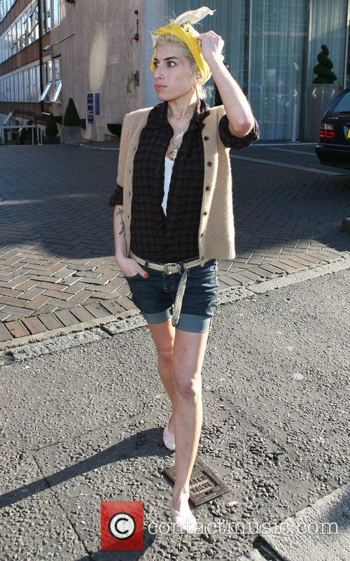 Amy Winehouse indulges in some retail therapy. Amy...