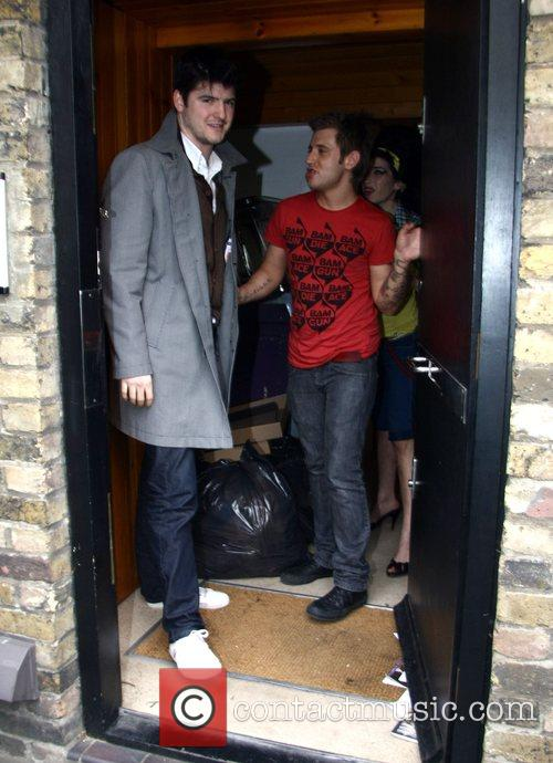 James Alexandrou and Amy's Hairdresser Say Goodbye To Amy Winehouse 1