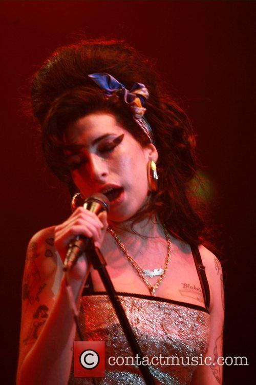 Amy Winehouse performing live in concert at Empress...