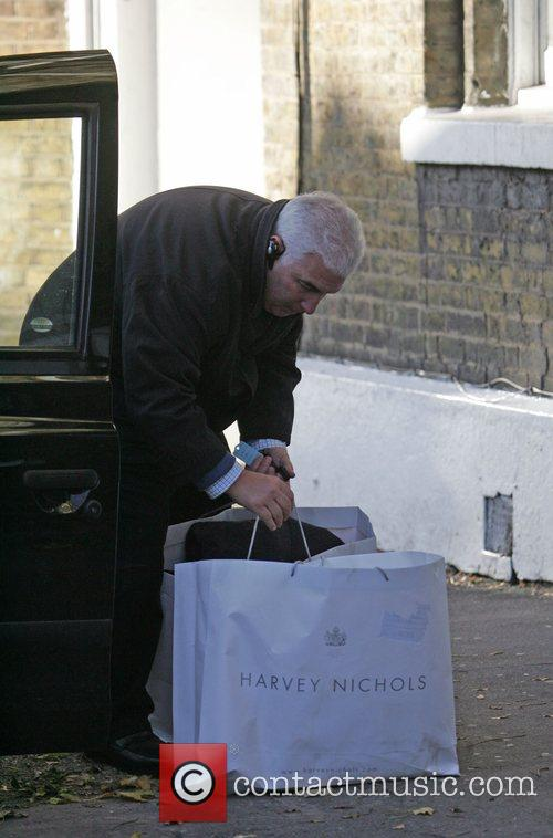 Mitchell Winehouse leaving his daughter Amy Winehouse's London...