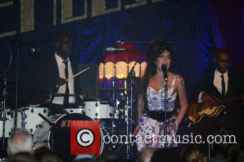 Amy Winehouse performing live at the ICA, The...