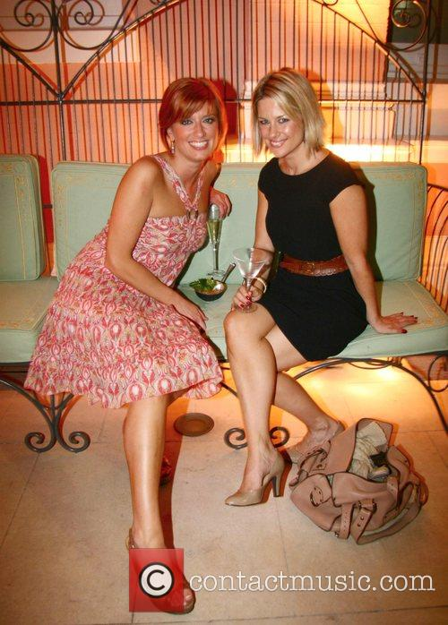 Caroline Faraday and Georgina Bouzova Launch of' Anahita...