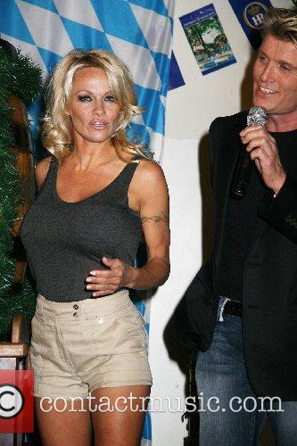 Pamela Anderson And Hans Klok Kick Off Oktoberfest