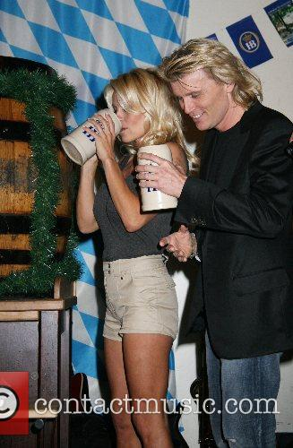 Pamela Anderson, Hans Klok and Las Vegas 2