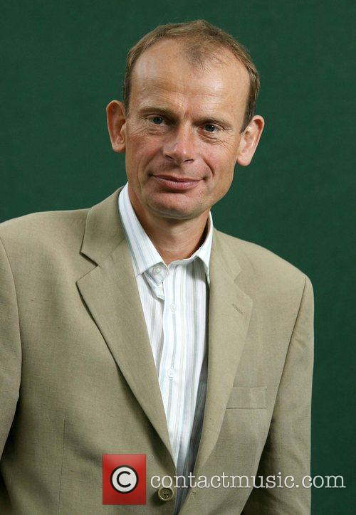 Political broadcaster Andrew Marr attending the Edinburgh Book...