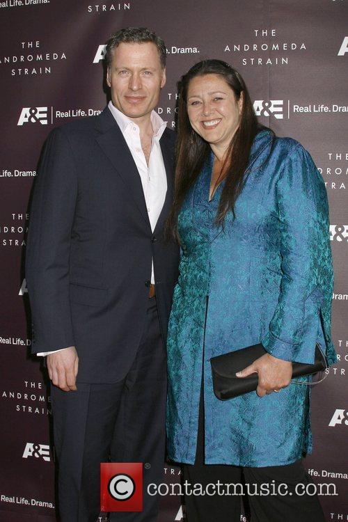 Ted Whittall and Camryn Manheim A&E World Premiere...