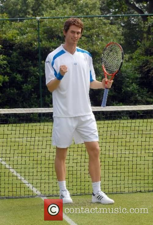 Andy Murray Tennis ace Andy Murray unveils his...