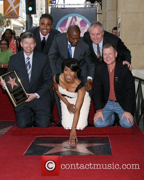 Angela Bassett honoured with the 2,358th Star on...